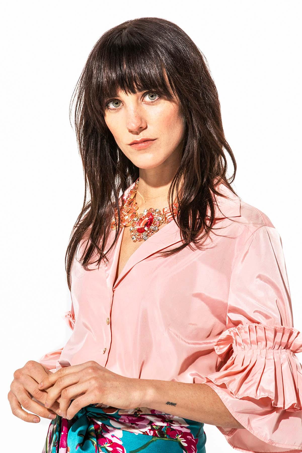 La Blusa Rosa Brillante - Budra