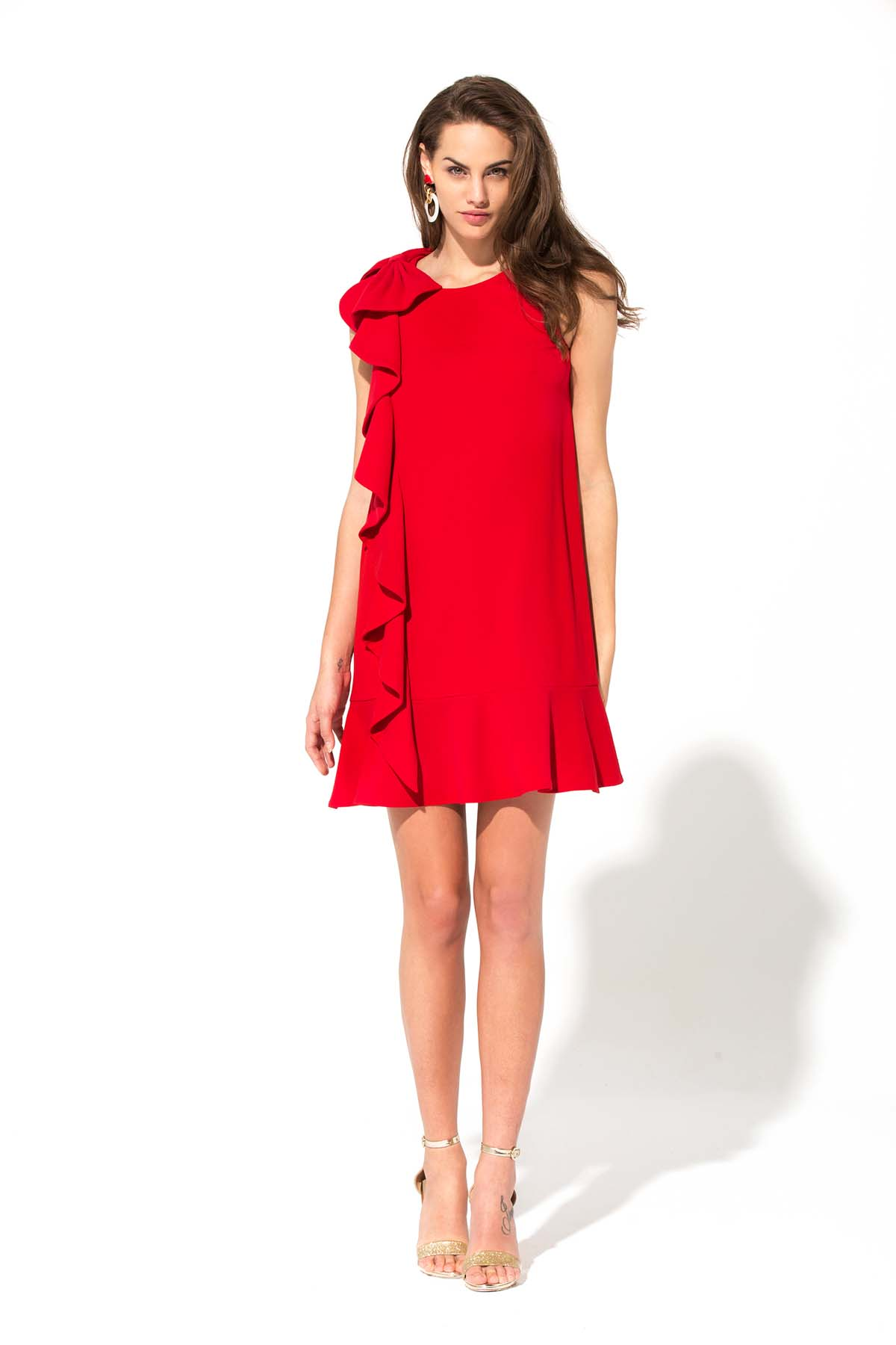Vestido ma petite robe rouge