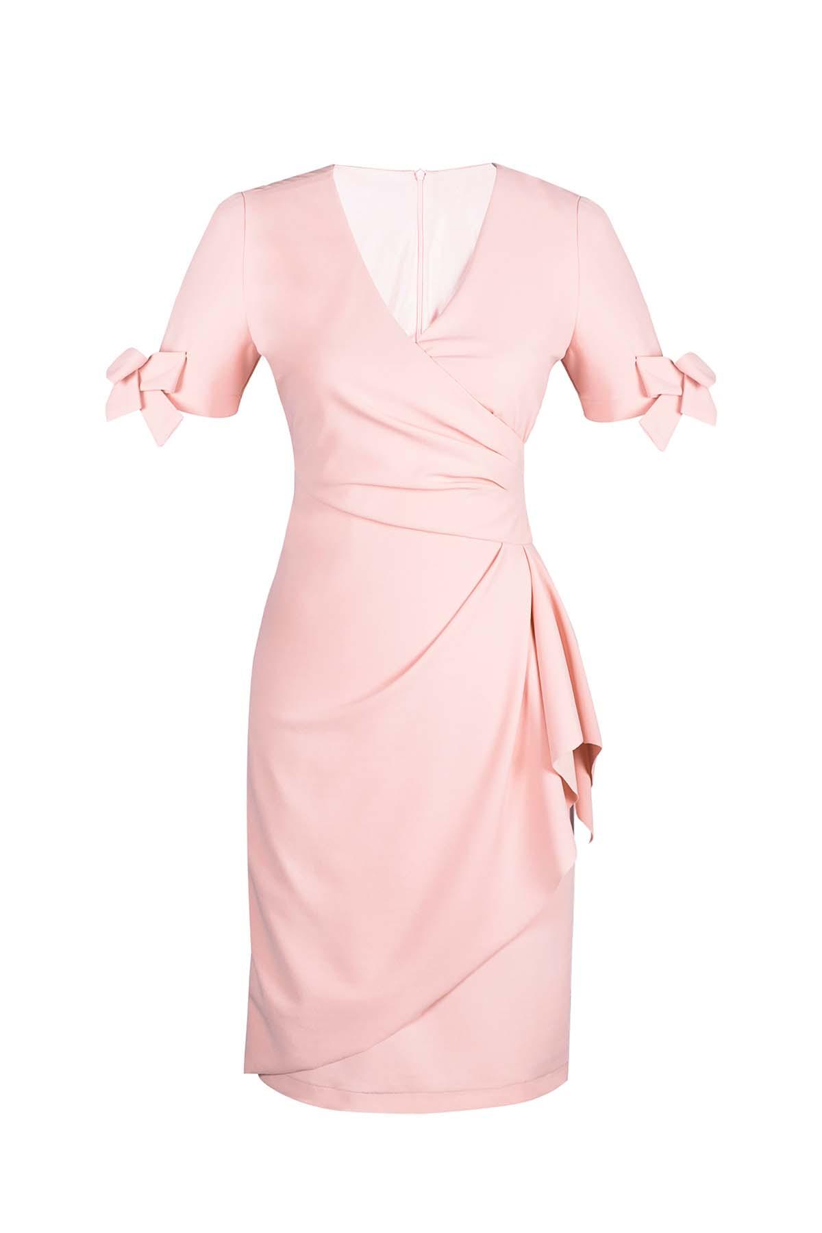 Teria Yabar - Vestido mini en rosa
