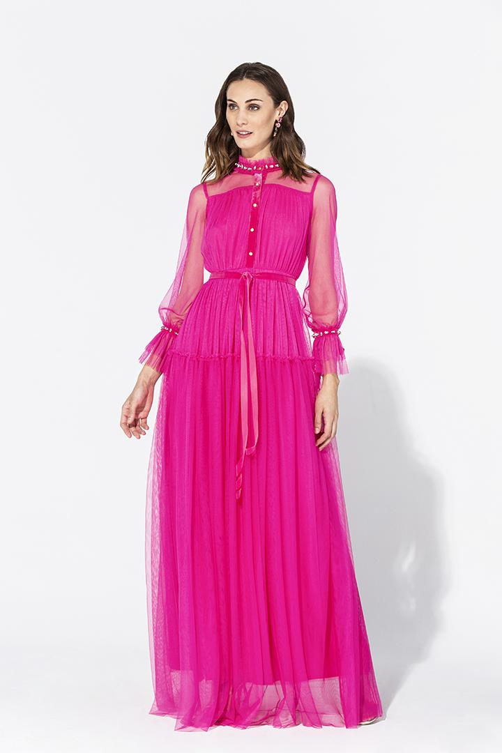 Vestido fantasía de tul