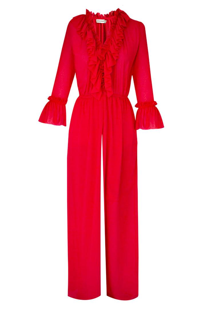 Poema para una mujer con vestido rojo