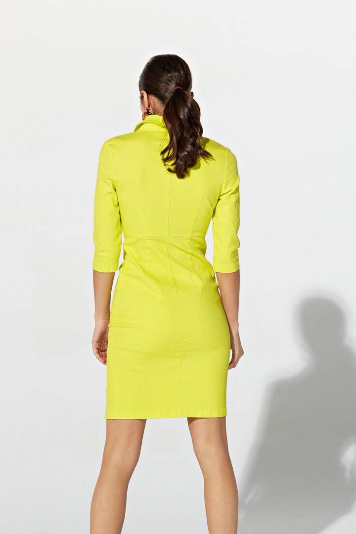 Vestido vaquero amarillo