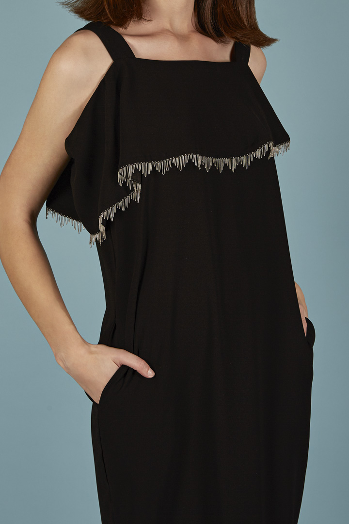 Vestido negro Alexandra