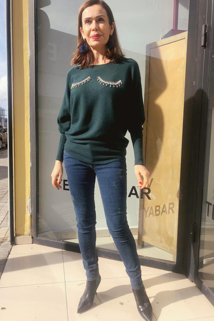 Jersey Mírame verde Teria Yabar