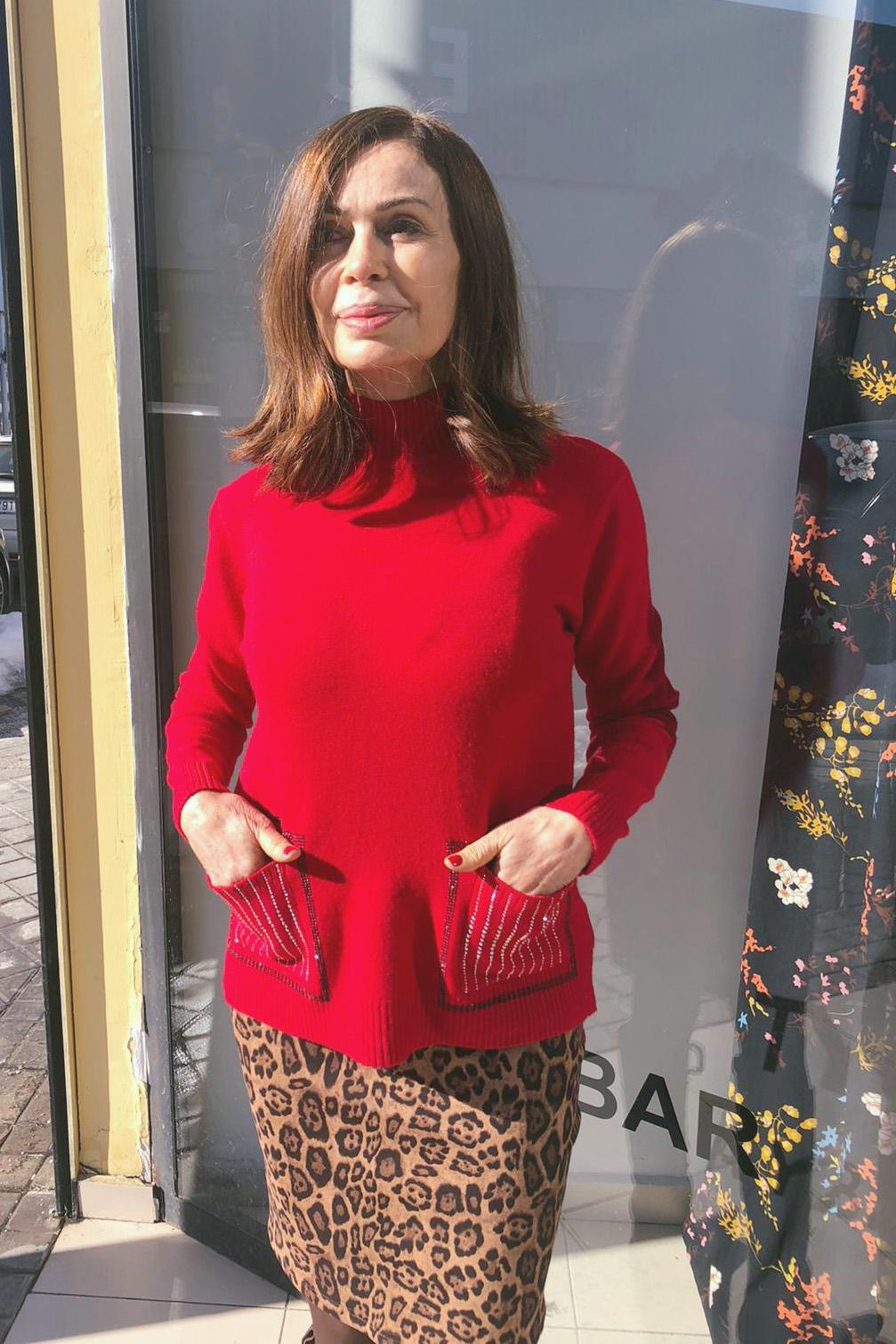 Jersey Nashville Rojo Teria Yabar