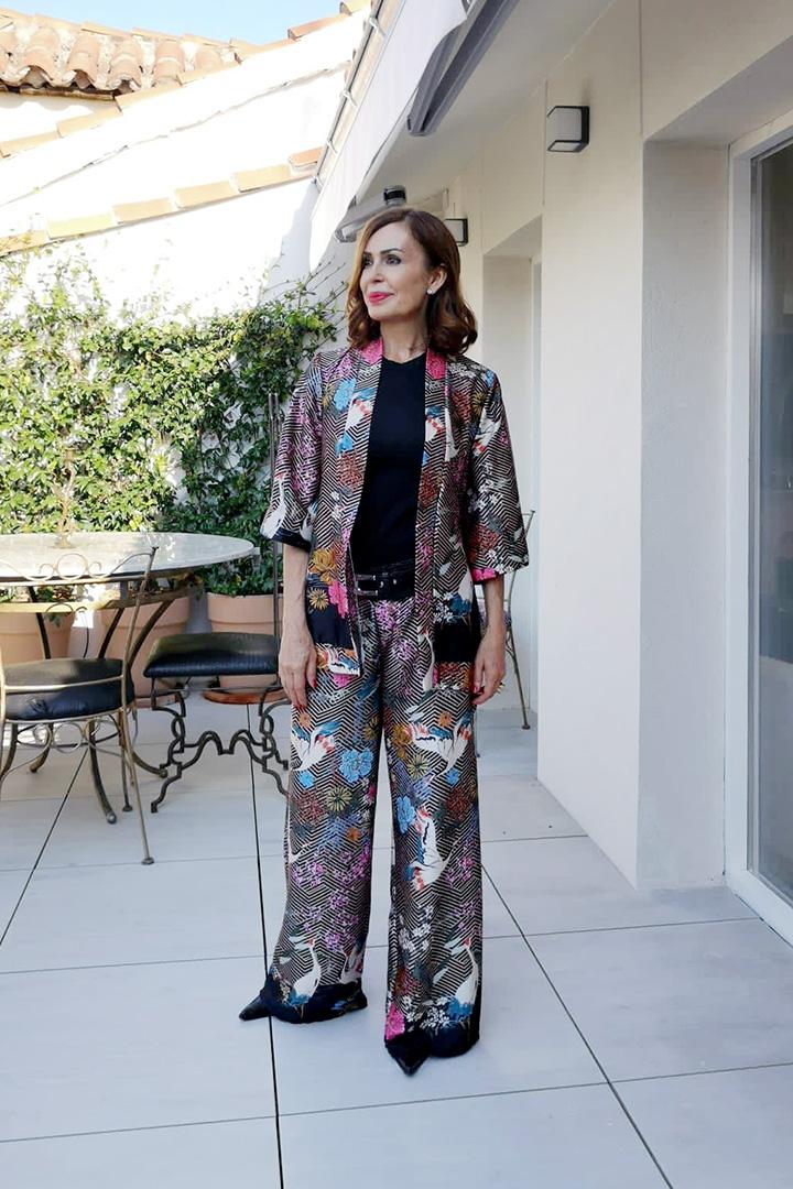Kimono Aisly Grullas Teria Yabar