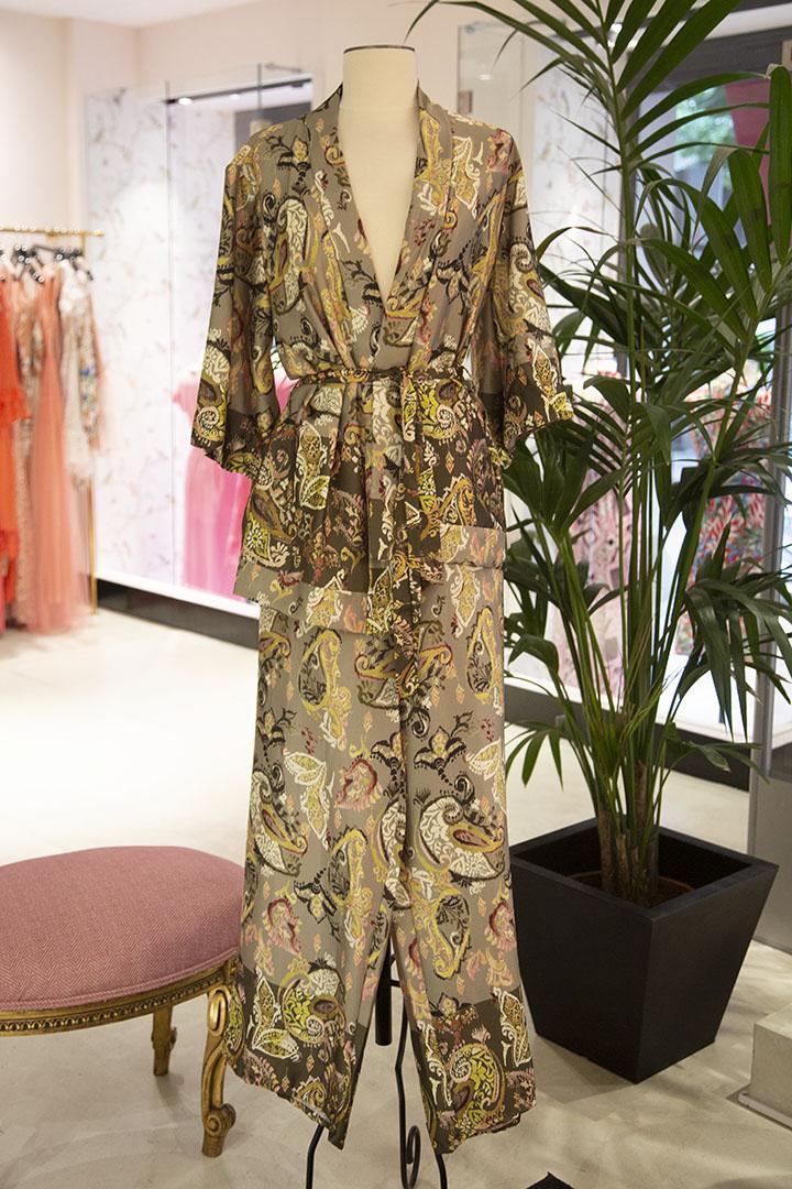 Kimono Aisly Oro Teria Yabar