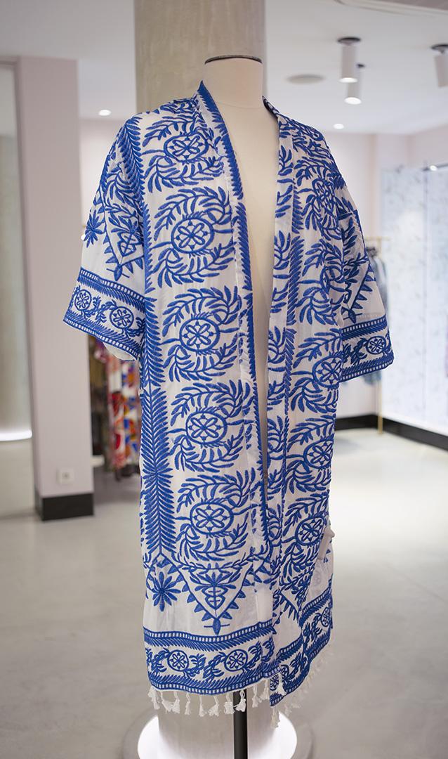 Kimono Busan Amarillo Teria Yabar