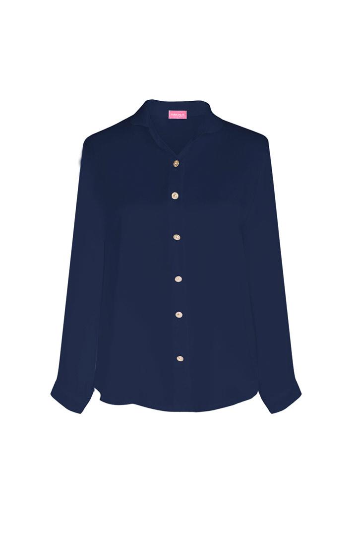 Camisa basic navy