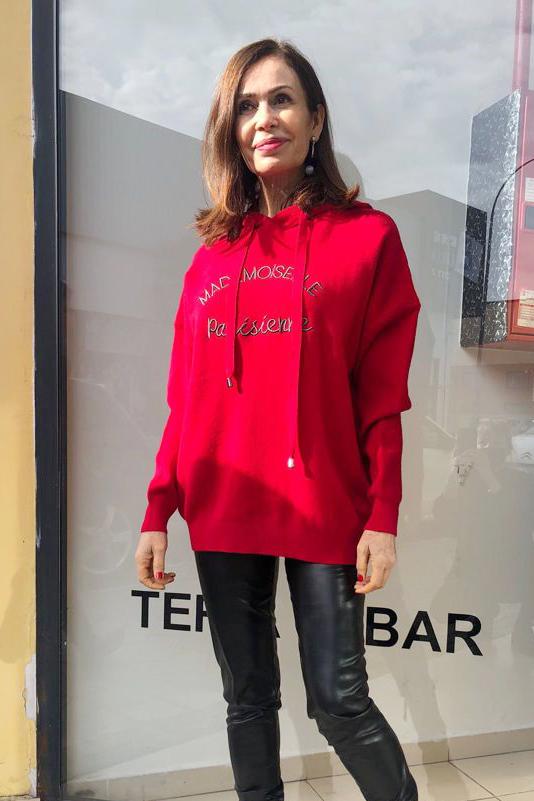 Sudadera Rennes Roja Teria Yabar