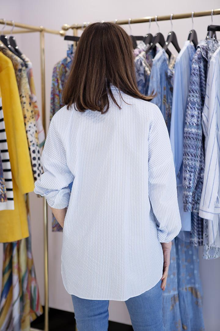 Camisa a Rayas Sky Camisa a Rayas Teria Yabar_1