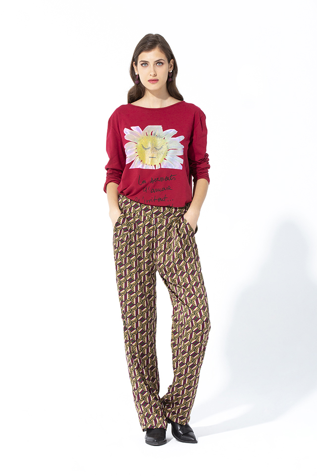 Camiseta Margarita Marlasa Basic Teria Yabar