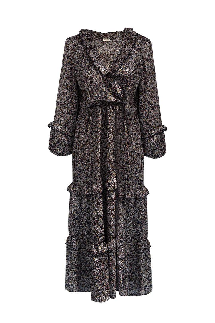 Vestido Alberta Negro Teria Yabar