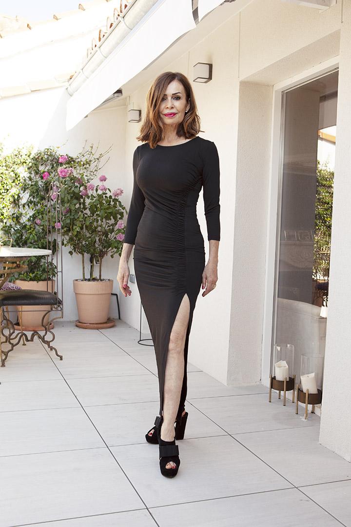 Vestido Amanda Negro Teria Yabar_0