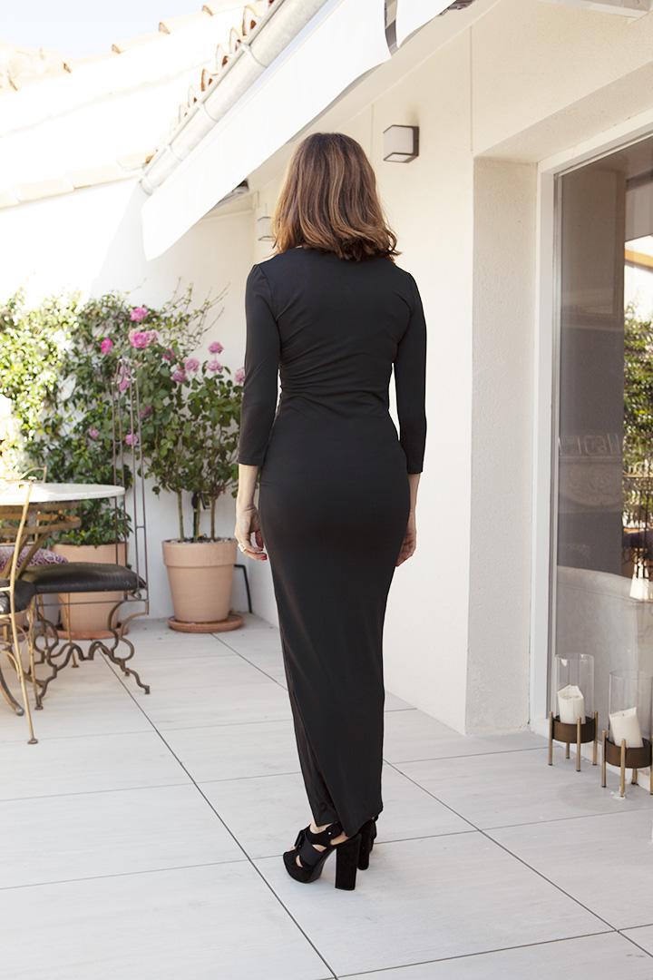 Vestido Amanda Negro Teria Yabar_1