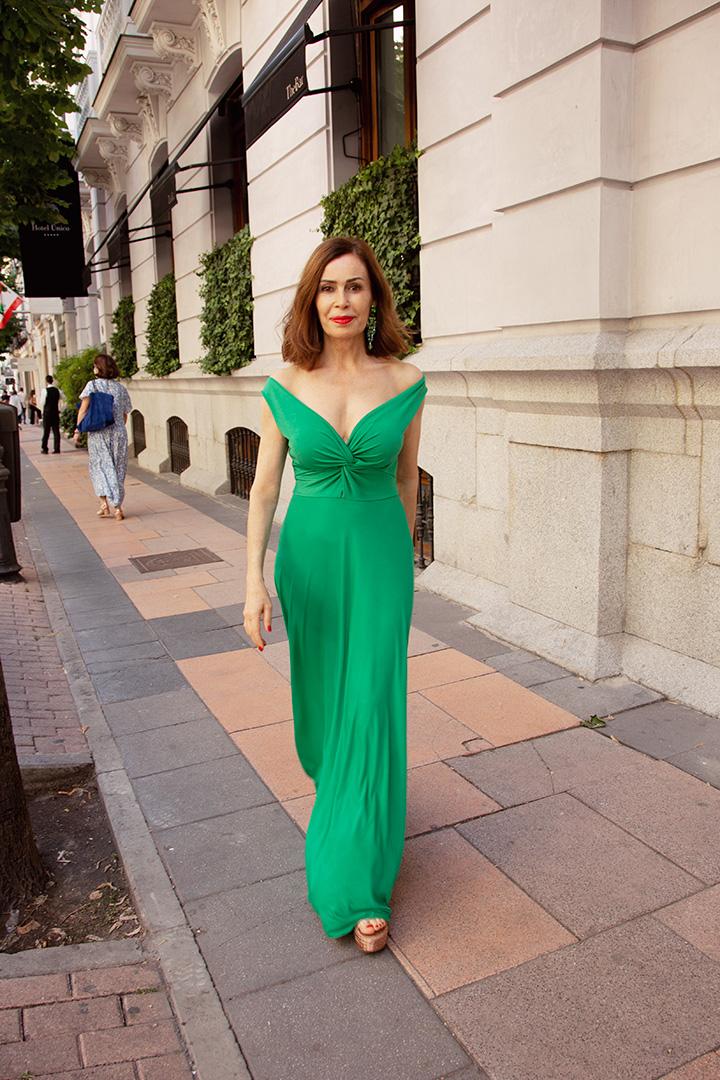 Vestido Audrey Menta Teria Yabar