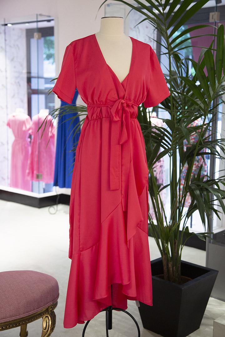 Vestido Maialen Fucsia Vestido Maialen Fucsia Teria Yabar_0