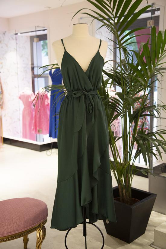 Vestido Maialen Verde