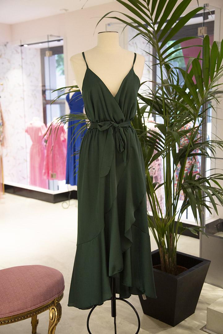 Vestido Maialen Verde Teria Yabar