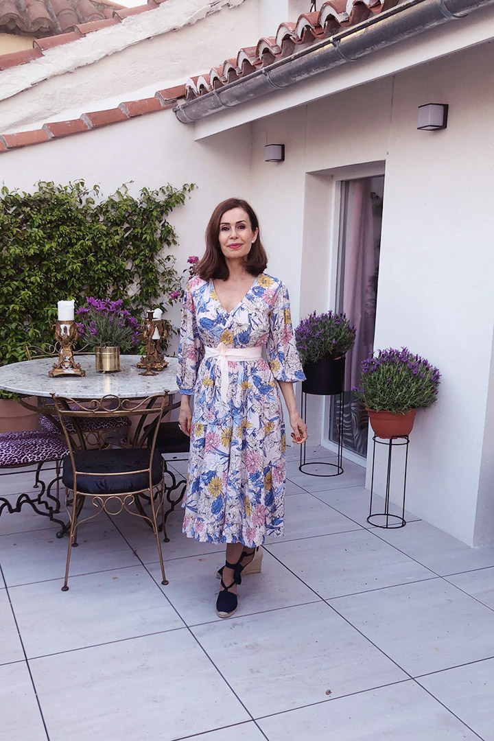 vestido Campiña Francesa Teria Yabar