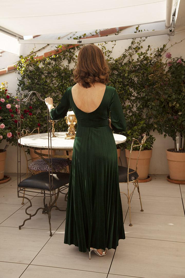 Vestido Cora Vestido Cora Terciopelo Teria Yabar_1