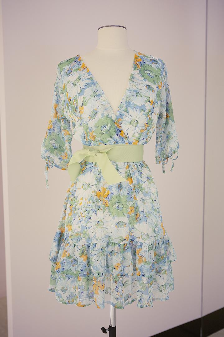 Vestido Flora Teria Yabar