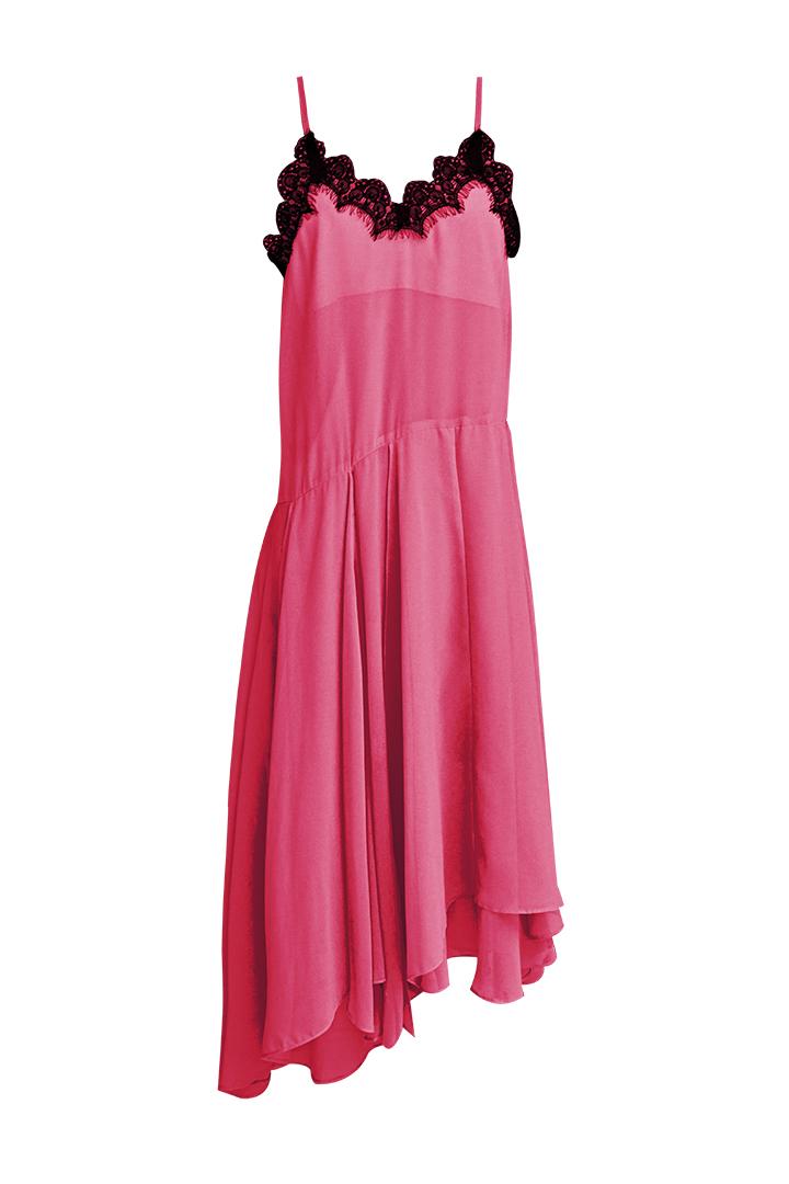 Vestido Flúor Fucsia Teria Yabar