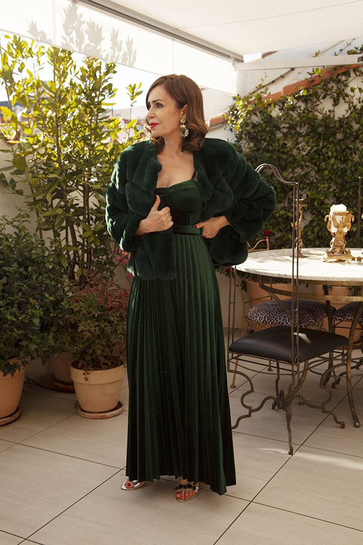 Vestido Gala Terciopelo Vestido Gala Teria Yabar_1