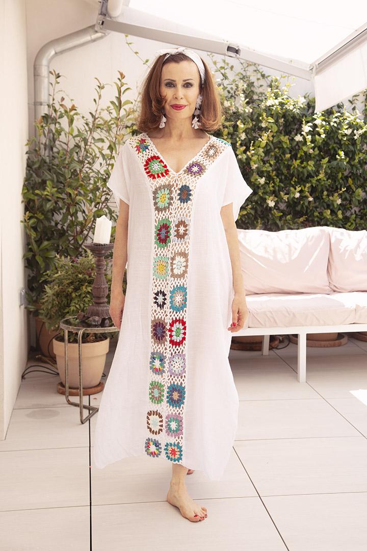 Vestido Hippie Teria Yabar