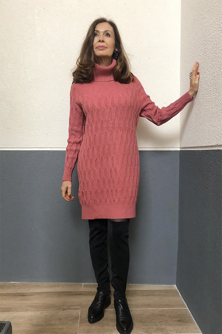 Vestido Islandia Teria Yabar