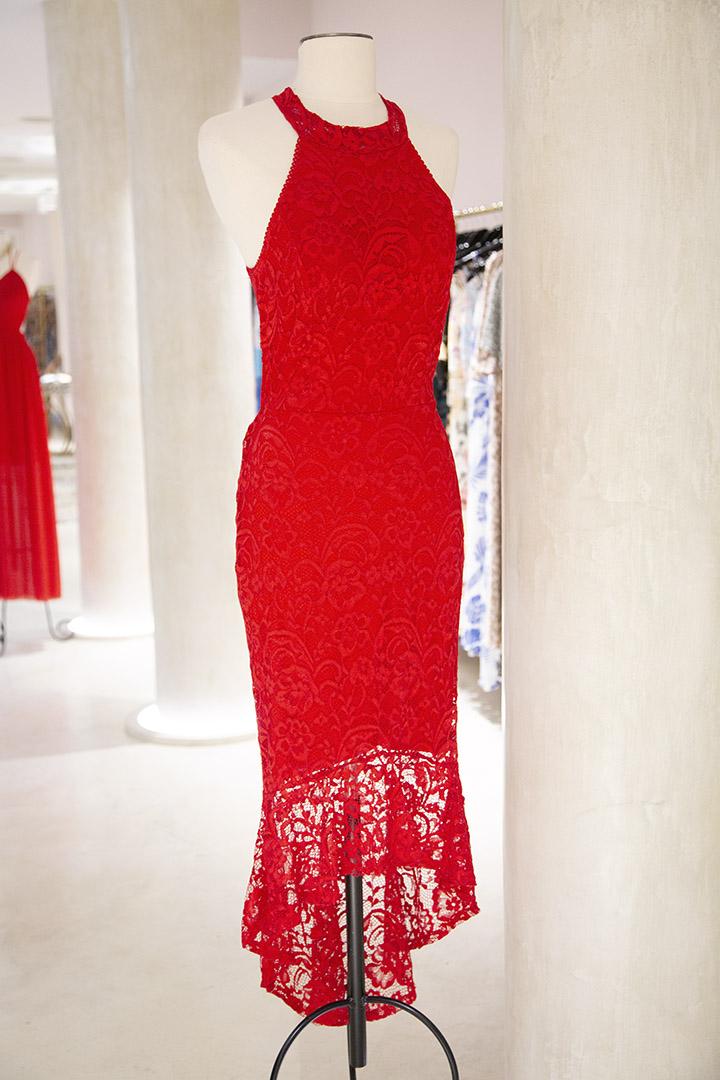 Vestido Lucerna Teria Yabar