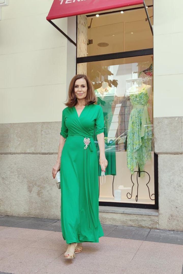 Vestido Malta Menta Teria Yabar