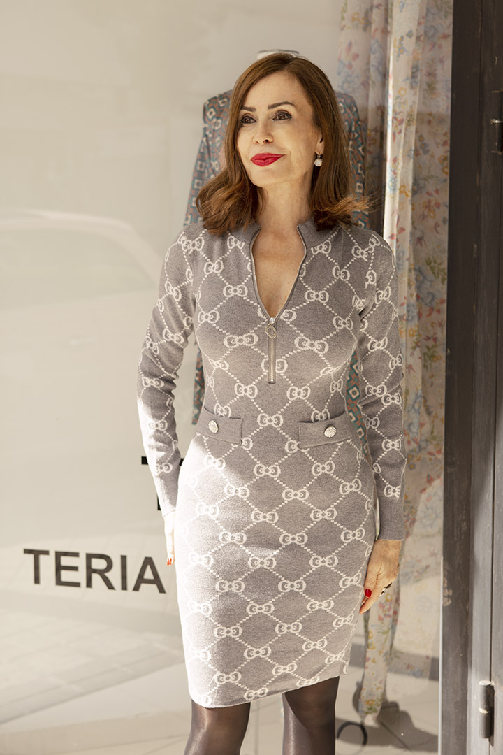 Vestido Marlene Teria Yabar