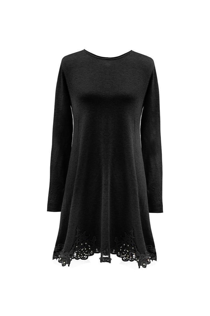 Vestido Jena Negro Teria Yabar