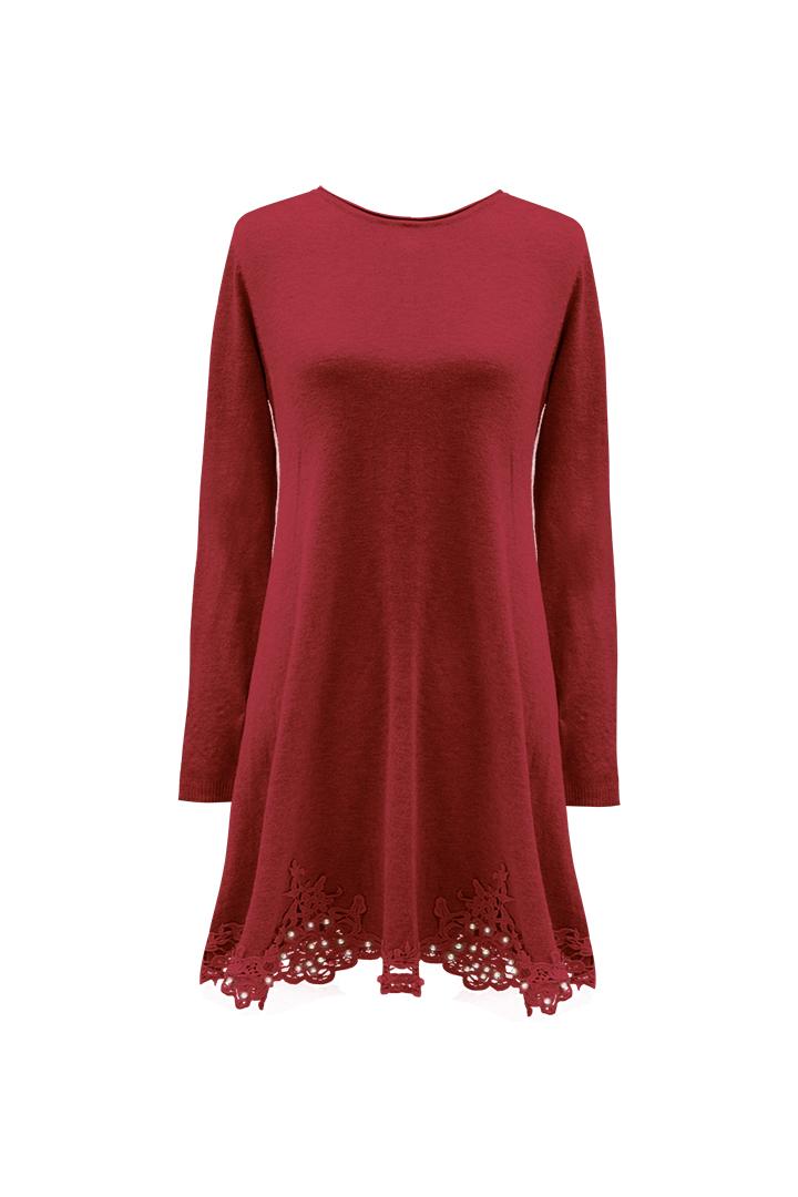 vestido Jena Rojo Teria Yabar