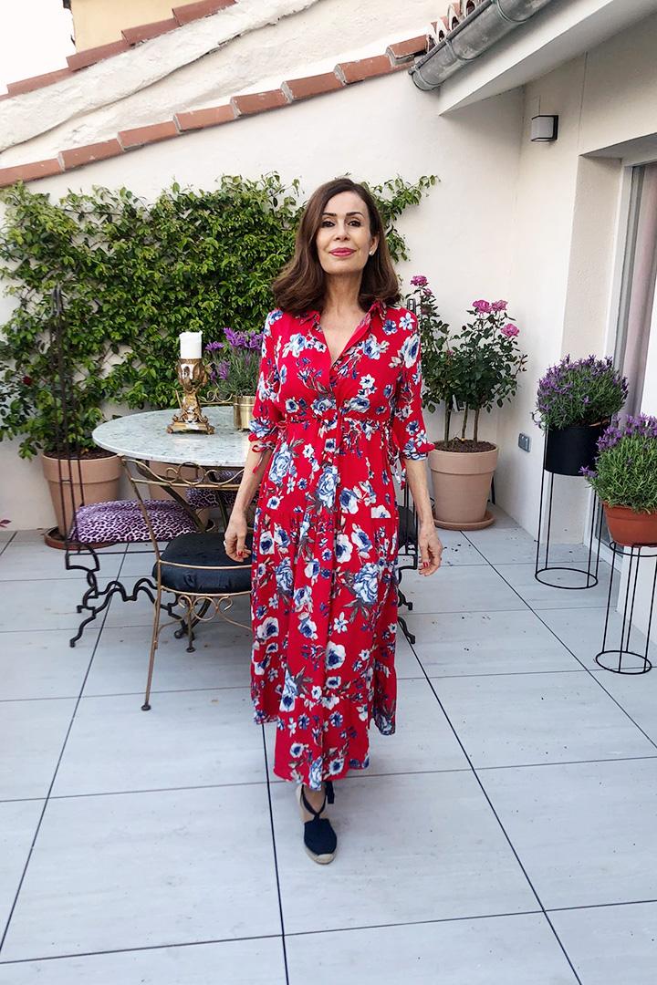 Vestido Sacramento Teria Yabar