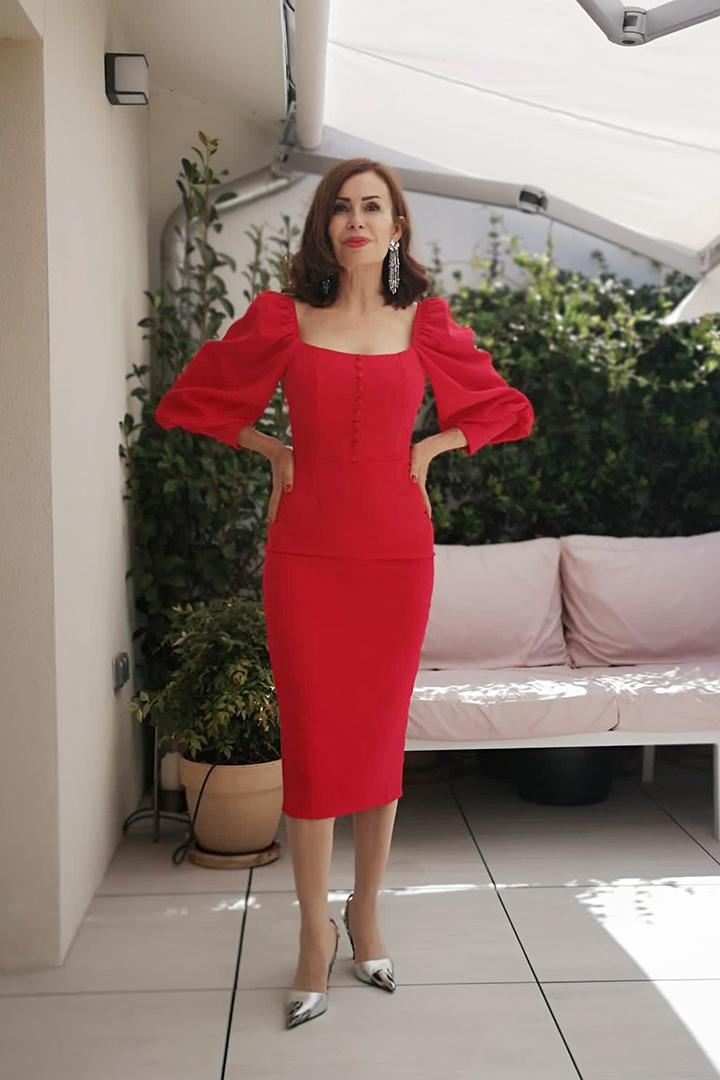 Vestido Shelma Teria Yabar