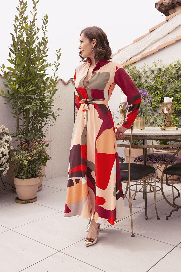 Vestido Sofía Teria Yabar