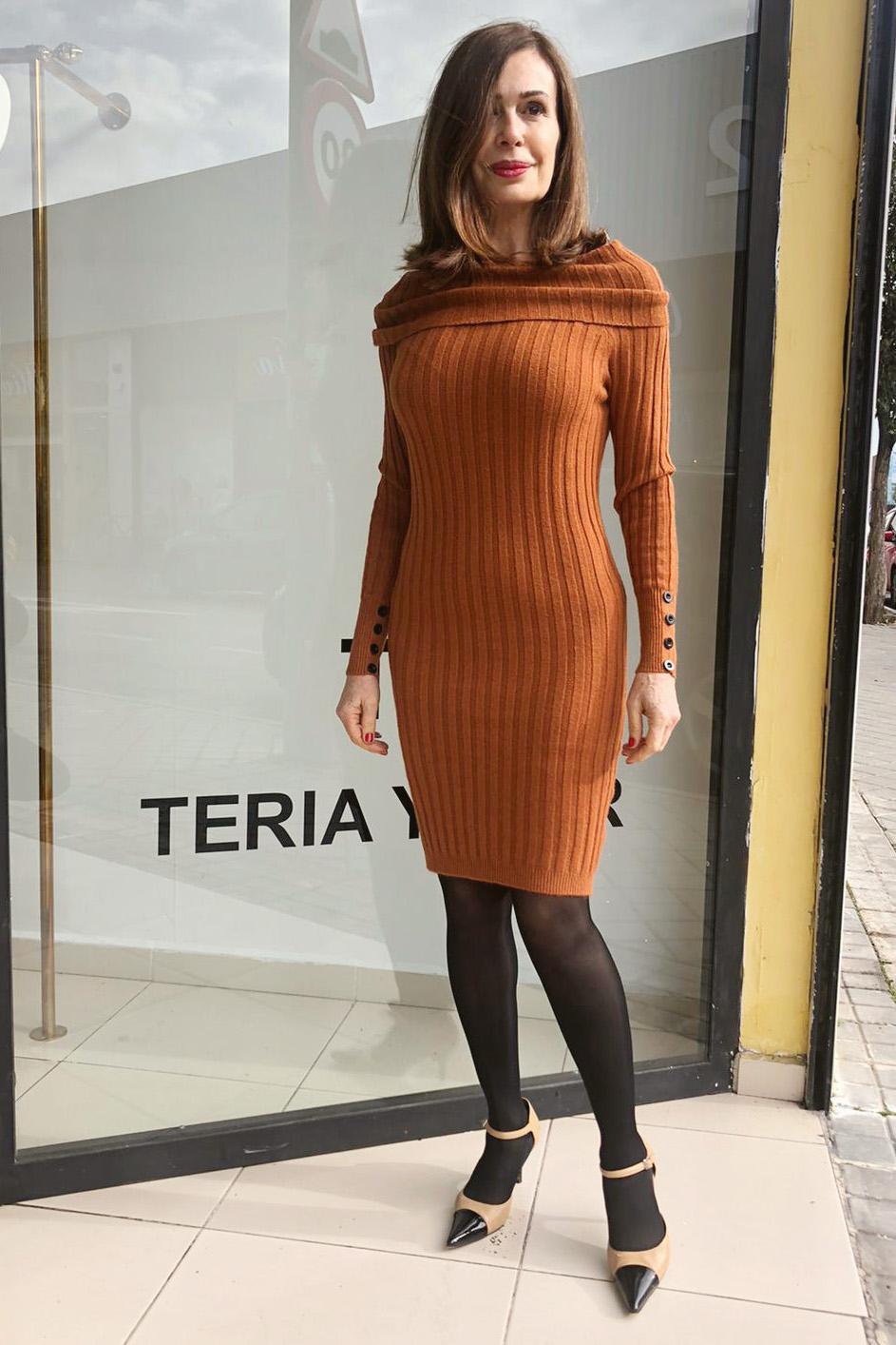 Vestido Túnez ArenaTeria Yabar