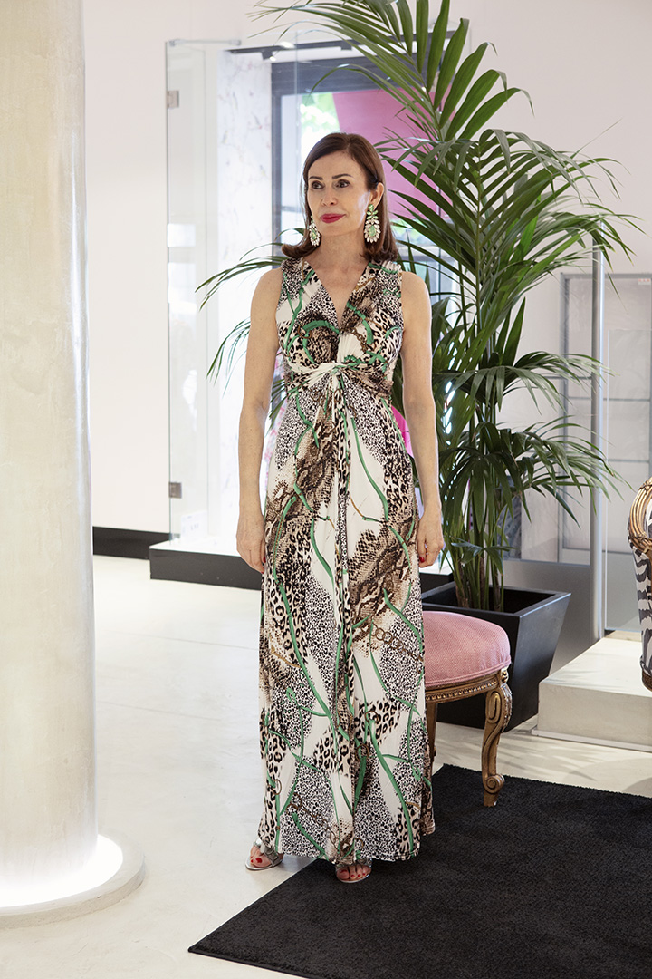 Vestido Zanzíbar TERIA YABAR