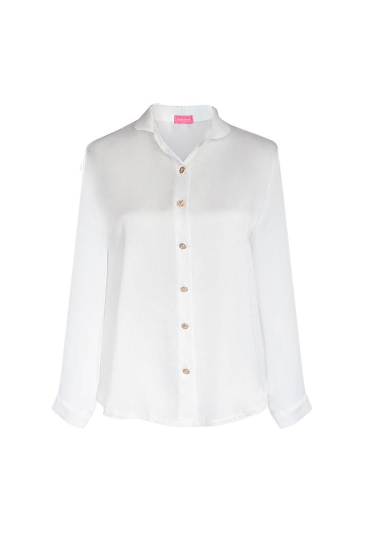 Camisa basic blanca